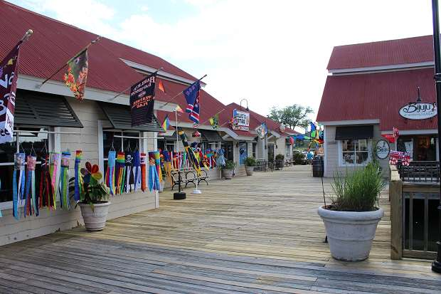Myrtle Beach Activities Barefoot Landing Restaurants Ping And