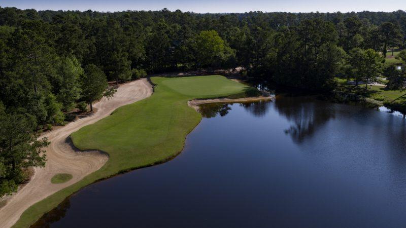 The 16th Hole at True Blue Golf Club
